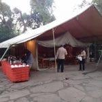 Dining Tent at Matira Bush Camp, Maasai Mara Nature Reserve, Kenya