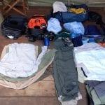 Columbia Clothings, Luggage during safari trip, BaseCamp Explorer, Masai Mara, Kenya