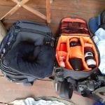 Canon Camera Gears, Luggage during safari trip, BaseCamp Explorer, Masai Mara, Kenya