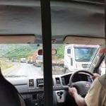 On the road to Lake Naivasha, Kenya