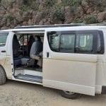 Van at The Great Rift Valley, Kenya