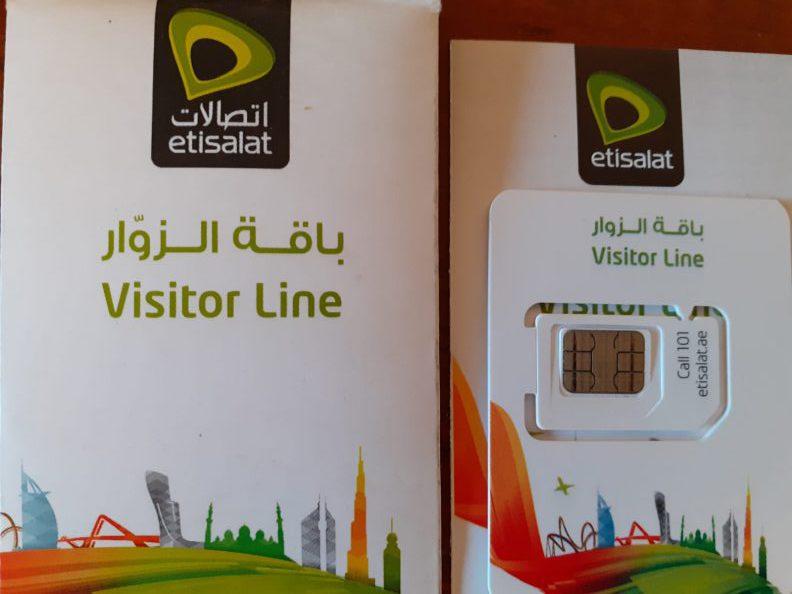 Etisalat Visitor Line