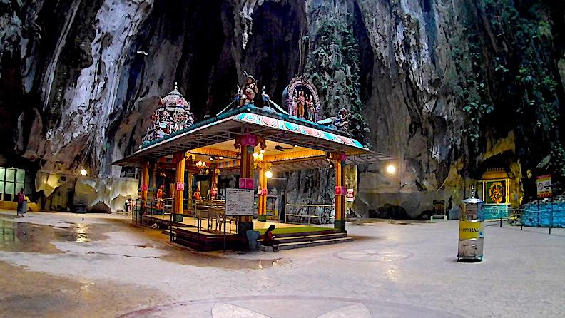 Shrine inside the Batu Caves
