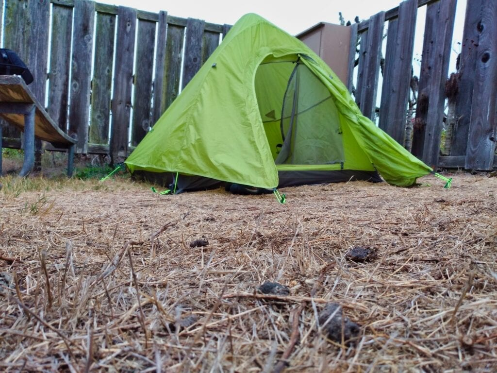 NatureHike Tent on San Miguel Island Campground