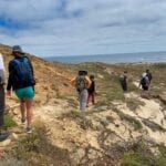 Point Bennett Trail on San Miguel Island