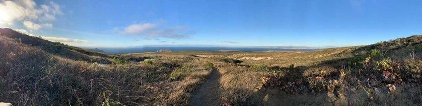 San Miguel Island Panoramic